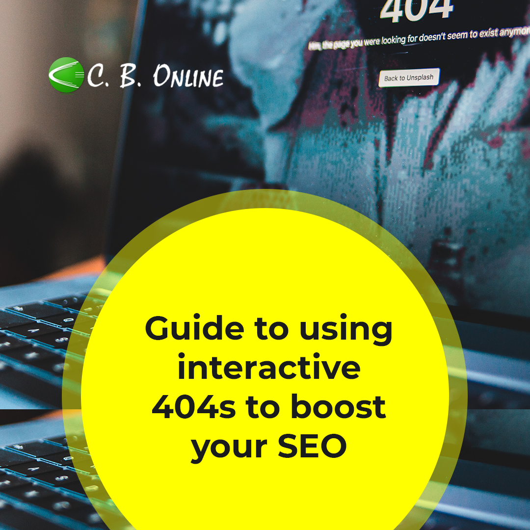 Guide to using interactive 404s to boost your SEO