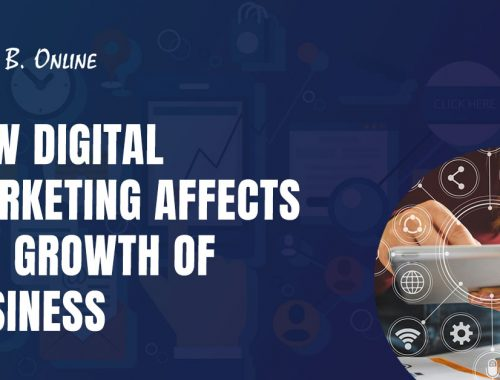 How Digital Marketing Affects the Growth of Business